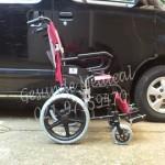 Kursi Roda Kecil KY871LB-tampak samping